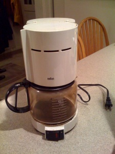 ex 4 photo braun coffee maker