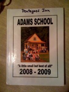 Adams yearbook