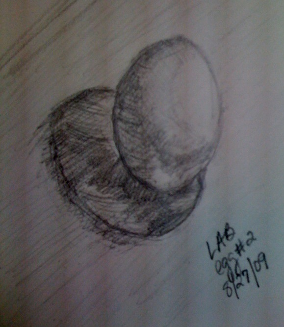 drawn egg 2
